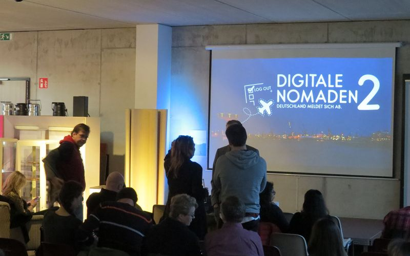 """Digitale Nomaden 2"" feiert Premiere in Hamburg"